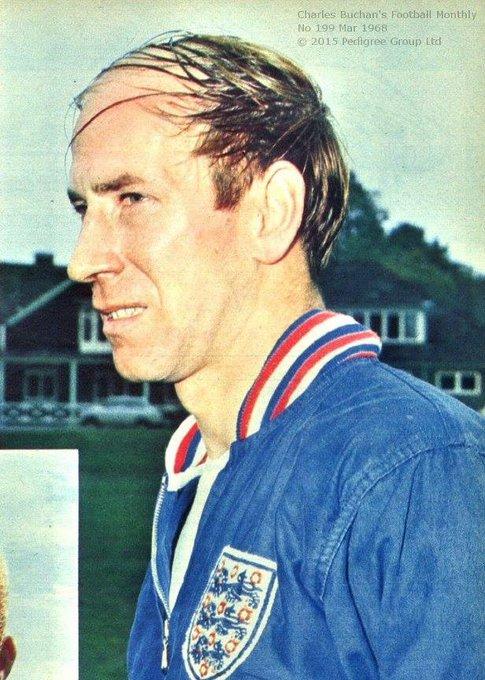 Happy birthday Bobby Charlton - 81 today