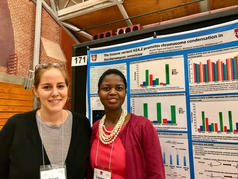 test Twitter Media - Grad students Anna Rogers and Lorencia Chigweshe, and Prof's Amy MacQueen and Mike McAlear presented on yeast and genetics at this year's Genetics Society of America's meeting @Stanford: https://t.co/63kgENSahO #WESResearch 🔬 https://t.co/KVUWQHhnL1
