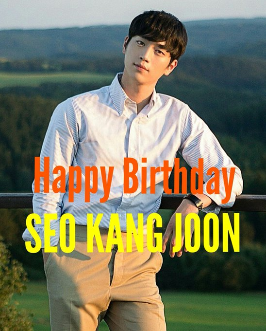 Happy Birthday SEO KANG JOON!