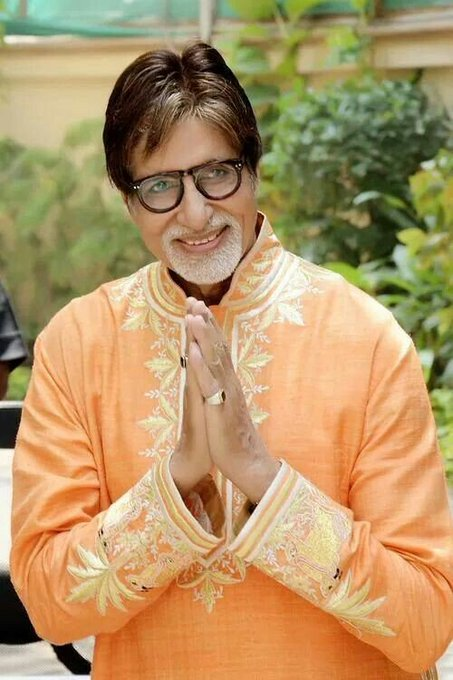 Happy Birthday Bachchan Super Star of the Millenium Big B Turns 76..We love you all