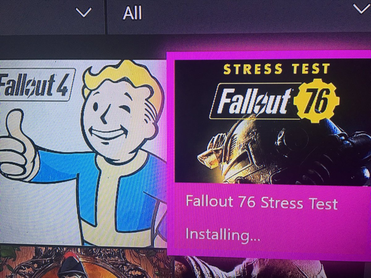 2 pic. So this happened and I'm so excited! #Fallout76 2