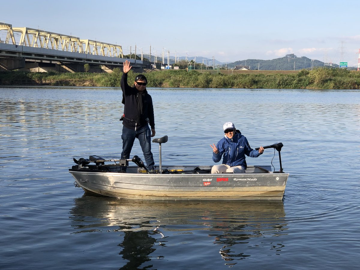 寒っ!急に寒くなりましたね。本日も免許不要の1万円レンタルボート。昨日のお客様は35cm筆頭に3匹。今日はどうでしょうか?良い釣果を期待してます! https://t.co/iNNb4z7vaZ