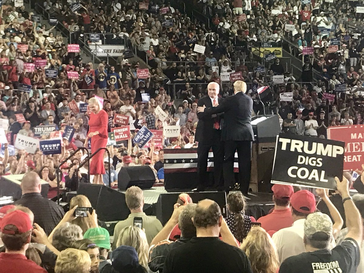 Last night's rally in Erie with President Trump was amazing. America is Winning!