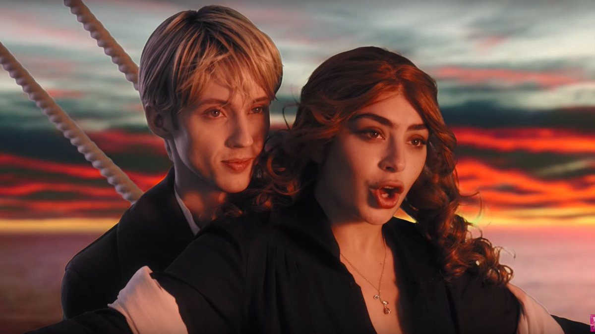 Charli XCX And Troye Sivan Cosplay As Spice Girls, BSB, And Eminem In '1999' Video