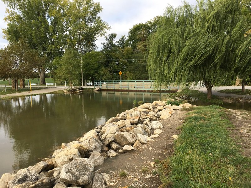 test Twitter Media - English Landing and Platte Landing parks remain closed today due to high water. Barriers are located at both entrances. For your safety, please don't cross barriers into parks on foot or in vehicle. These photos were taken today of Rush Creek at entrance to Platte Landing Park. https://t.co/MOzpjsK4Uf