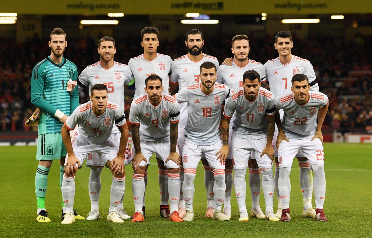 test Twitter Media - 🏴🇪🇸 0-4 m83 ⚽ #GalesEspaña (Alcácer 8' 29' Sg.Ramos 19' Martes 74') 🏀 96-73 • 4Q a 7'35' #RealMadrid Darussafaka #Euroliga https://t.co/p3HH9lYg6G