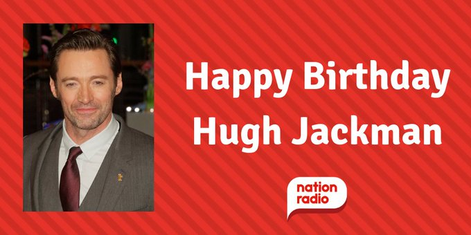 Happy Birthday Hugh Jackman, he\s 50 today!