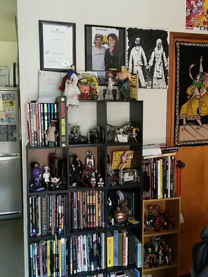 My #wallofhonor and #remembrance of all things #comicbooks that got me where I am today. https://t.co/vOdhDOe7mF
