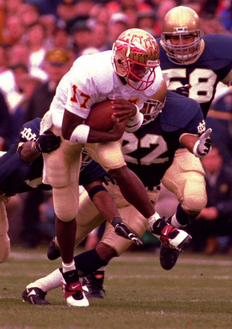 I would like to wish a Happy 48th birthday today to Charlie Ward! October 12th.