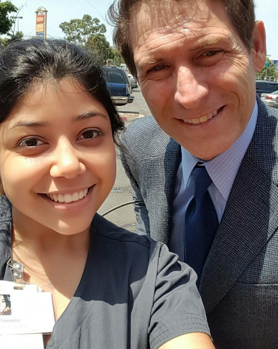 That one time I met Steve Young during my lunch. Happy Birthday to this legend.