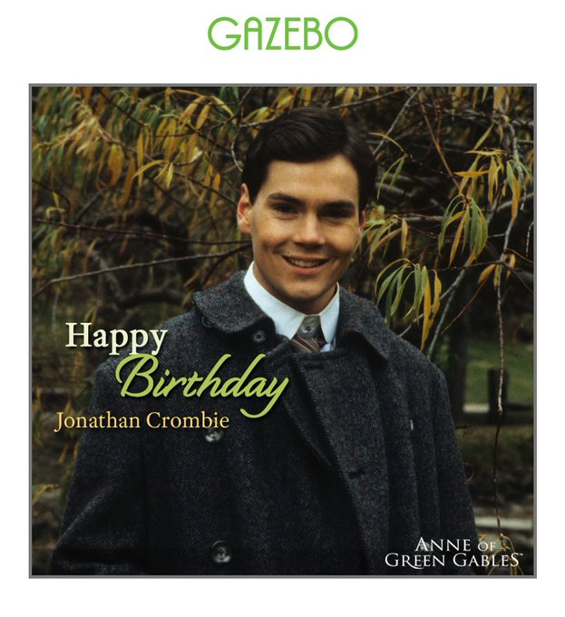 Happy birthday Jonathan Crombie, you will always be the perfect Gil in our hearts!