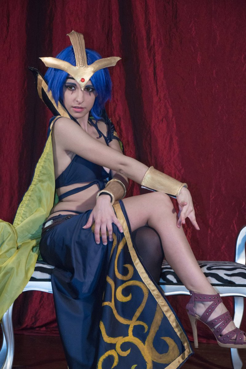 8WcUVHxIyt Leblanc from League of Legends #modelfemale #cosplay #leagueoflegend #leblanc