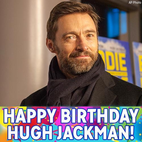 Happy Birthday, Wolverine! Oscar-nominated actor and star of the X-Men films Hugh Jackman is celebrating today.