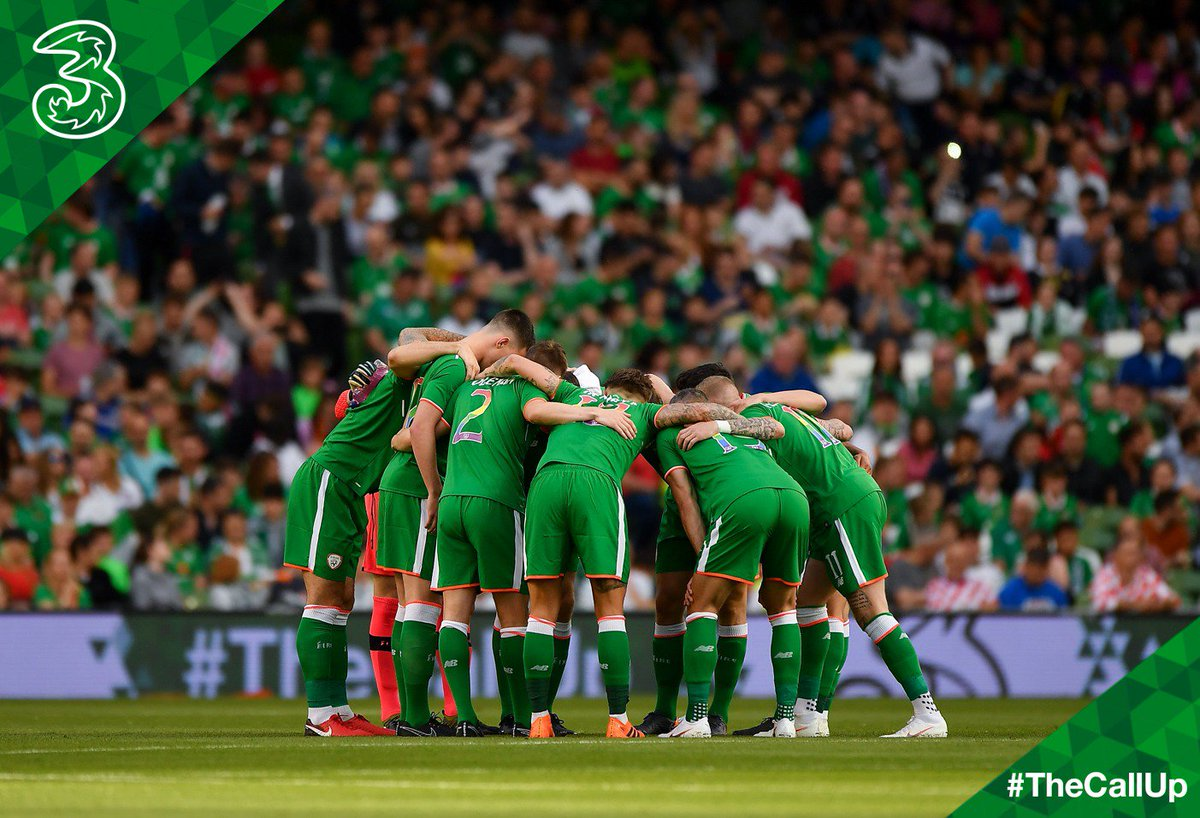 Best of luck to the Boys in Green taking on Denmark today in Dublin! 👊 #COYBIG #TheCallUp 🇮🇪 https://t.co/MoUeK1OaBn