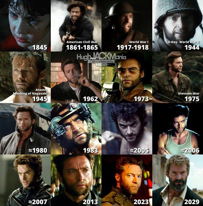 Happy birthday Wolverine aka Hugh Jackman