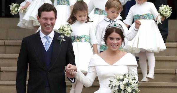 Princess Eugenie and Jack Brooksbank's wedding was a real-life fairytale.