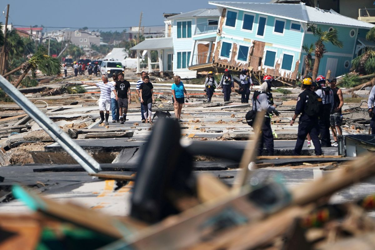 Death toll rises to six in wake of Hurricane Michael