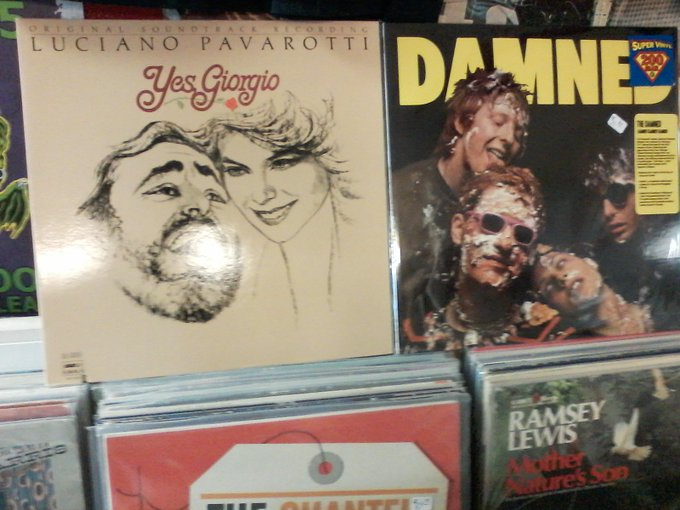 Happy Birthday to the late Luciano Pavarotti & David Vanian of The Damned
