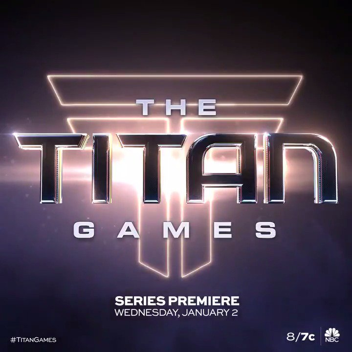 RT @nbctitangames: A new breed of heroes will rise. ????????  Step into the #TitanGames arena with @therock this January. https://t.co/YucyGEK0E7