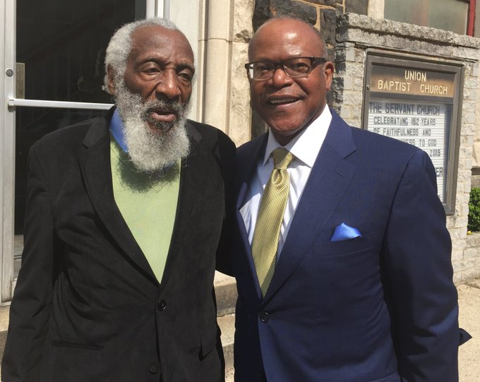 Happy Birthday Mr. Dick Gregory! You challenged us to think critically, read voraciously, and live with integrity!