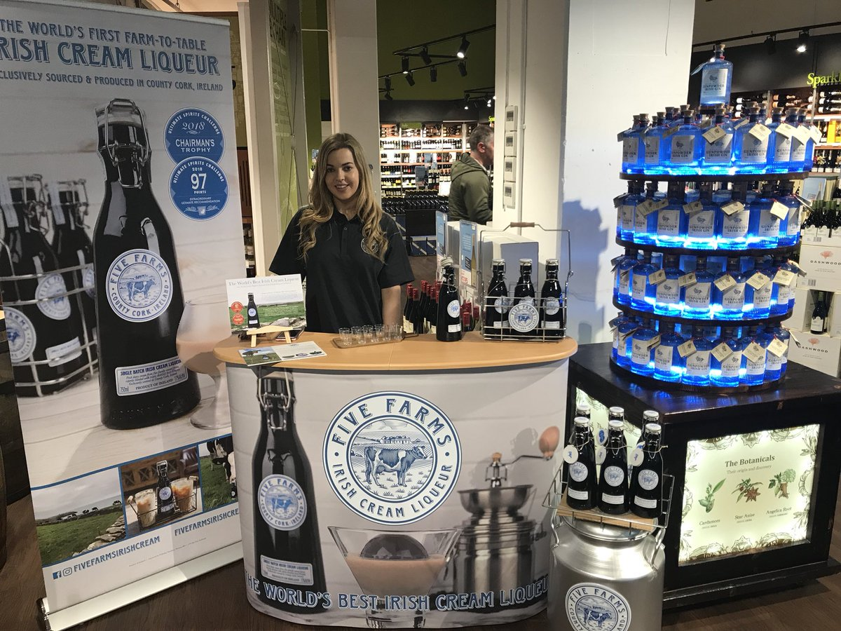 On tasting now!!! Call in to try the best Irish Cream Liqueur money can buy!! (^Beacon) https://t.co/tX3mb4NYrP