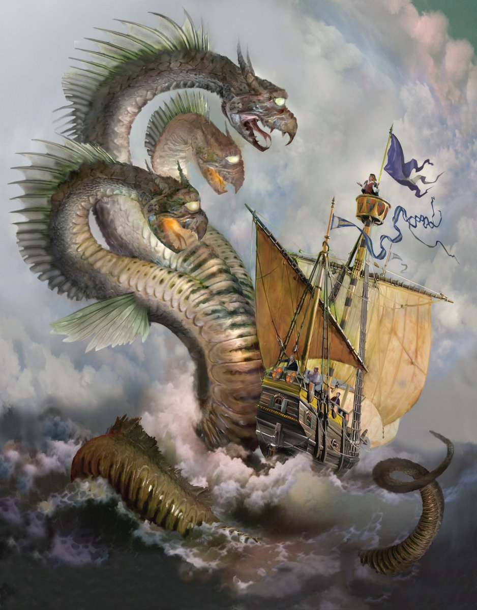 test Twitter Media - Every hero goes on an adventure. In my book, Ten Fingers Touching, an illustrated story for grown-ups, the hero sets sail to seek out and destroy Evil. Along the way, he encounters a 3-headed sea dragon that terrorizes the crew! Happy #FairyTaleFriday #fantasyfan #fantasynovel https://t.co/qh12YTG85V