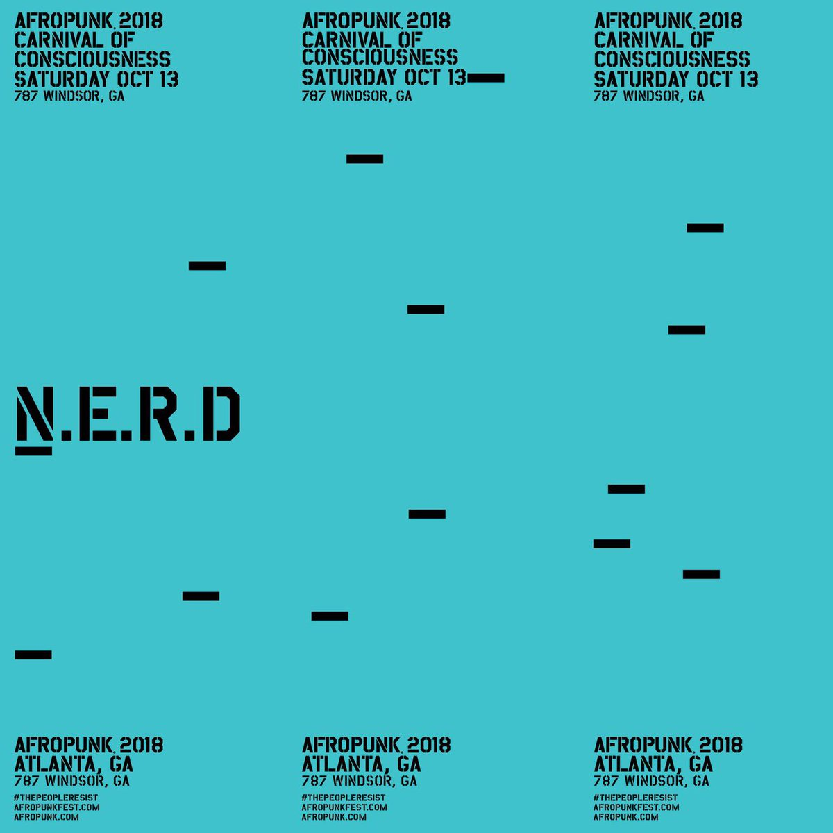 RT @NERDarmy: TOMORROW!!! ????Atlanta????  @afropunk #NOONEEVERREALLYDIES???????? Tix Available At https://t.co/OIIPEf04ie https://t.co/ShszW6SvXO