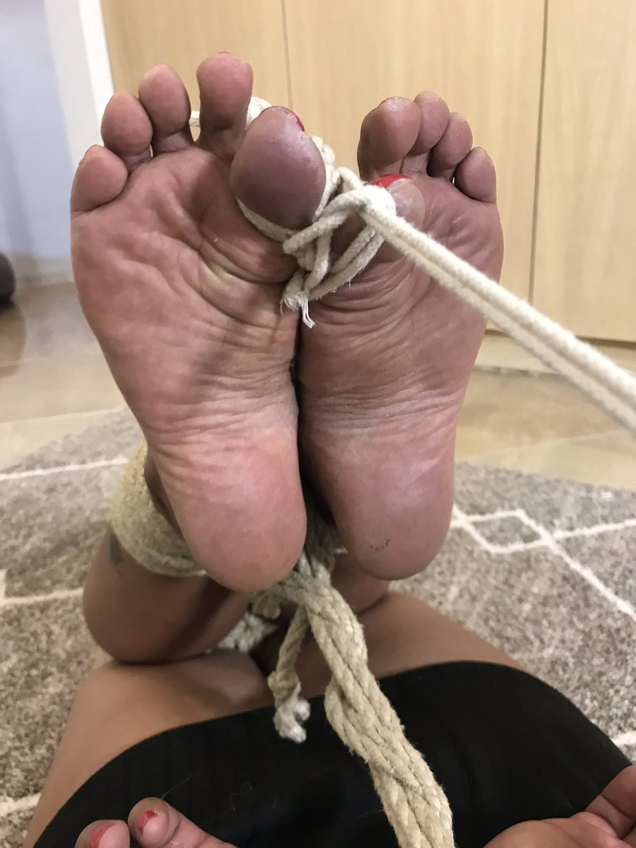 2 pic. Gorgeous Chanel tightly bound and Toe-tally Fucked as she requested to be
