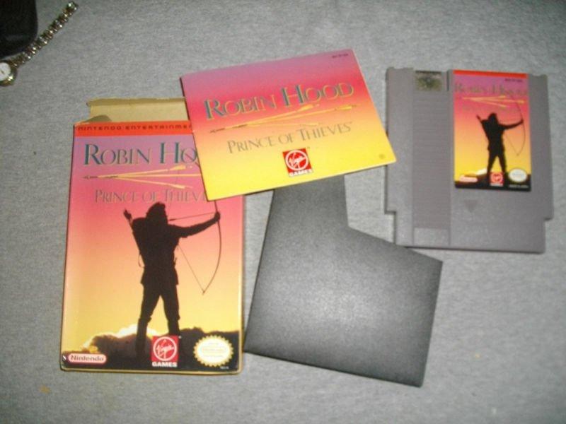 Robin Hood: Prince of Thieves (#Nintendo Entertainment System, 1991) #retrogaming #ebay 🔥🔗https://t.co/R1j23FBLgY https://t.co/K2bNWzT782