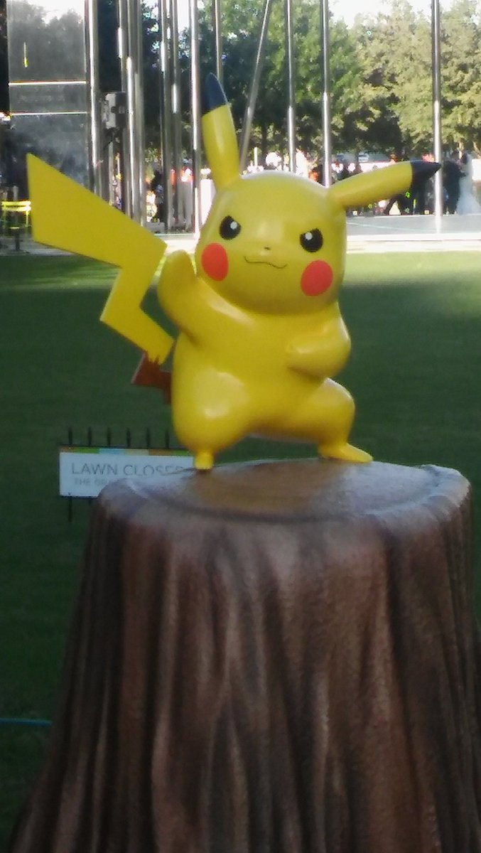 RT @Itchinader: Wow! Isn't this PIKACHU on a Stump!?!  PIKACHU on a Stump has a value of 1300 points! https://t.co/coFnA9AudL