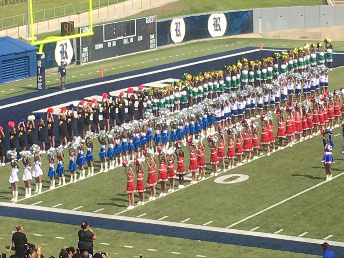test Twitter Media - ALMEDA Bobcats cheer and dance team performed at the Rice University halftime show today. WE had a blast with our future college bound scholars today! https://t.co/GEPfxaJWLN