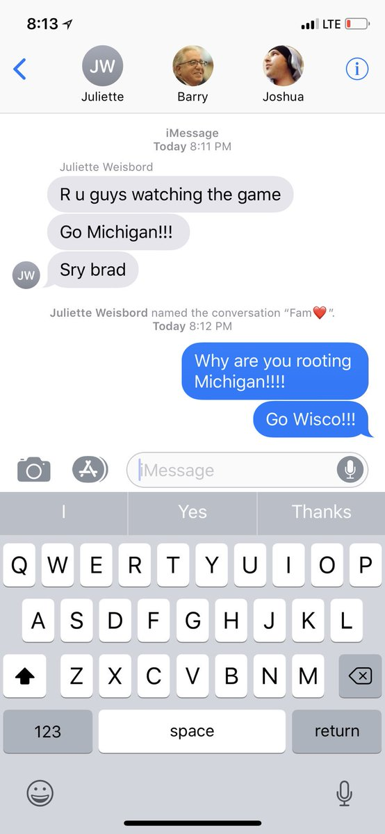 test Twitter Media - My 10yo Sister Just doesn't get it. Go Badgers. 🤣🤣 https://t.co/3xFBkB48CA