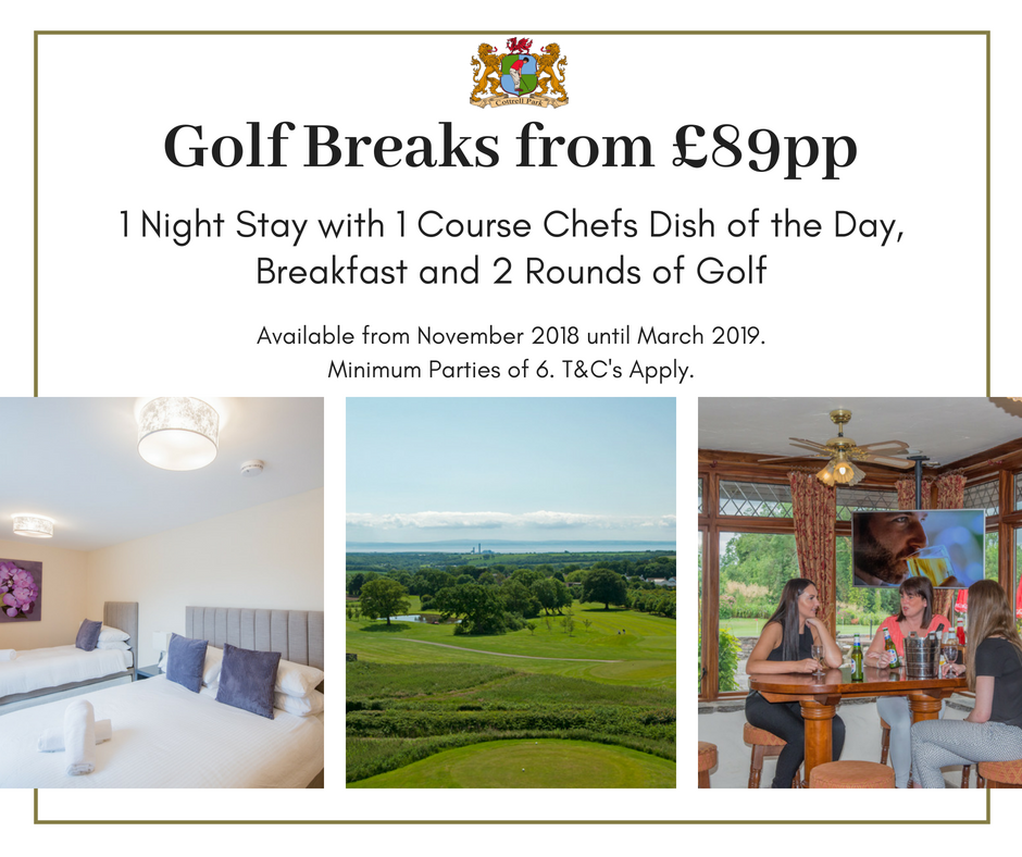 test Twitter Media - GOLF BREAK   November 2018 to March 2019🏌️‍♂️  ⭐️ONLY £89PP⭐️  1 Night Accommodation Dinner- 1 Course Chefs Dish  Breakfast  2 Rounds of Golf   T's & C's Apply. (Based on Minimum Parties of x6) T: 01446 781781 Opt2 E: sales@cottrellpark.com https://t.co/5htyXJ2oYy
