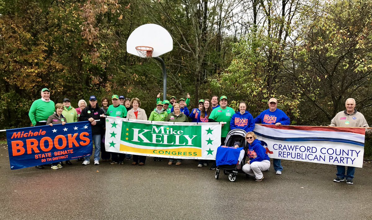 Another fabulous day on the campaign trail with Team Kelly talking with great Americans!