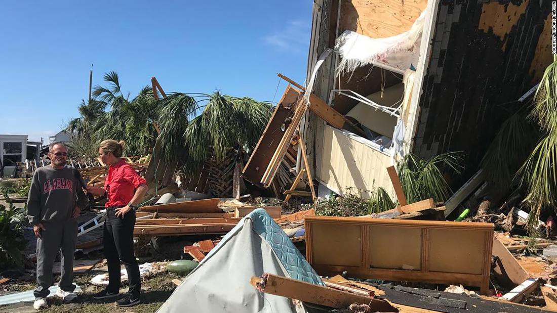 CNN's Brooke Baldwin recounts her bird's-eye view of Hurricane Michael