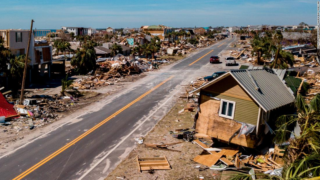 Thousands join Hurricane Michael recovery efforts as many residents remain missing