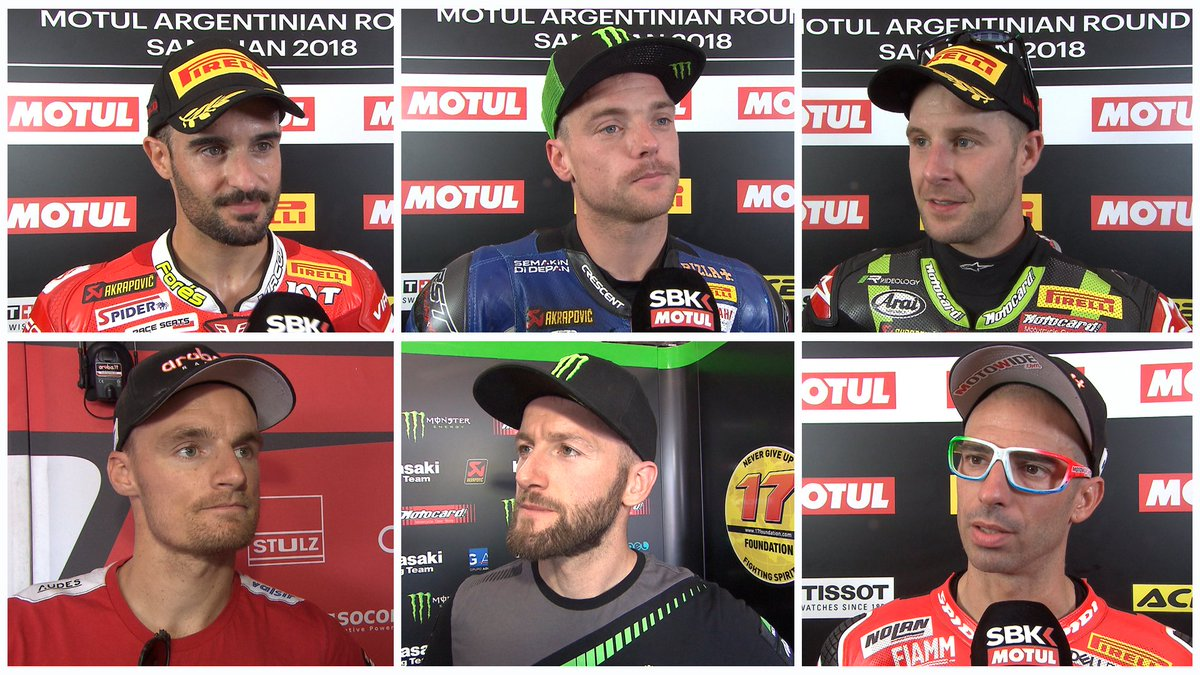 test Twitter Media - #WorldSBK: top 6️⃣ give their thoughts on Race 2  #ARGWorldSBK 🇦🇷  📹 INTERVIEW | #WorldSBK https://t.co/ucyNumYt1s https://t.co/II6Ilht9MU