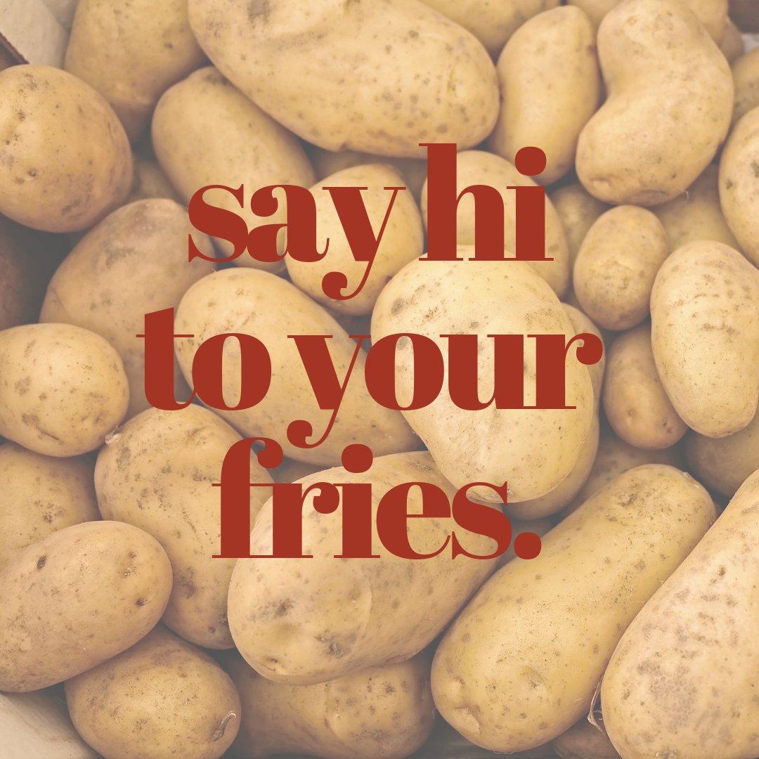 Fresh cut daily. #idahopotatoes #themfries #fries