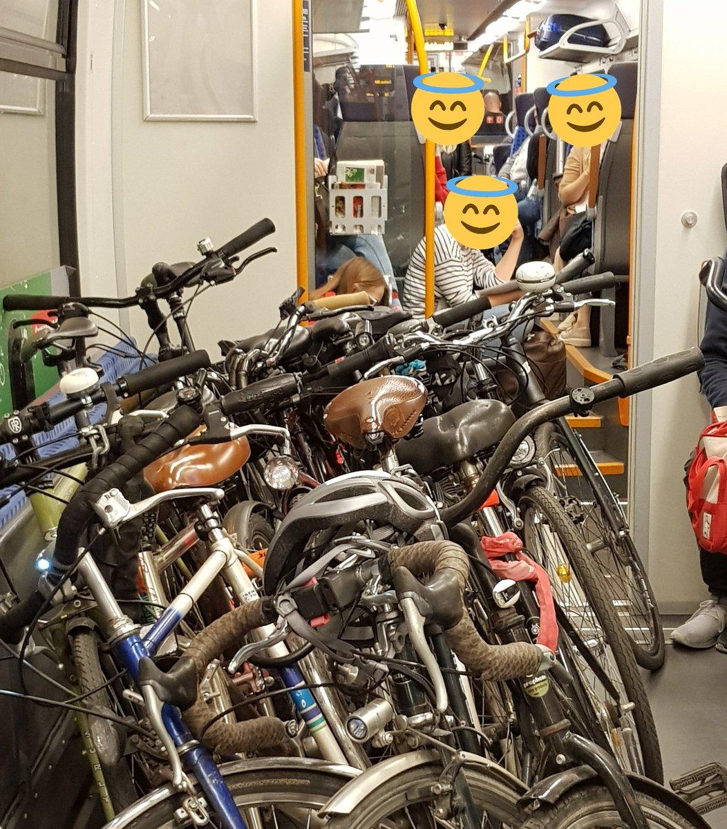 RT @phiboLE: Montagabend 19:20 in der S-Bahn von Halle nach Leipzig...well #radverkehr #intermodalität #öpnv https://t.co/94Bon34cxJ