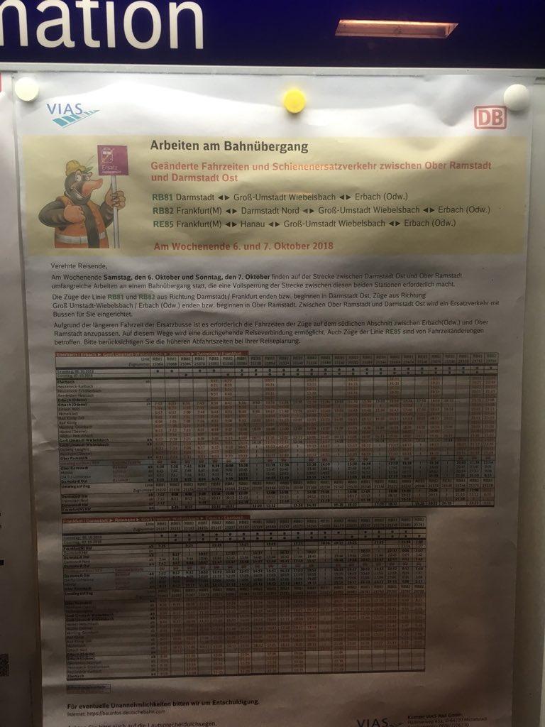 @viasgmbh Diese Informationen am Bahnhof #Mühltal können glaube ich entsorgt werden 🗑 😉. #ÖPNV #LaDaDi https://t.co/Apy6cy0wS7