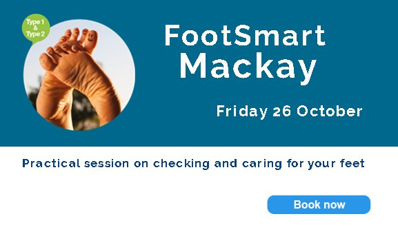 test Twitter Media - #Mackay Your feet are made for walking - so let's keep them healthy.  FootSmart will teach all you need to know about checking and caring for your feet.  26 Oct. For people with #type1 and #type2 #diabetes. Book now - https://t.co/9KJRpSW0xD https://t.co/SReaQtIXya