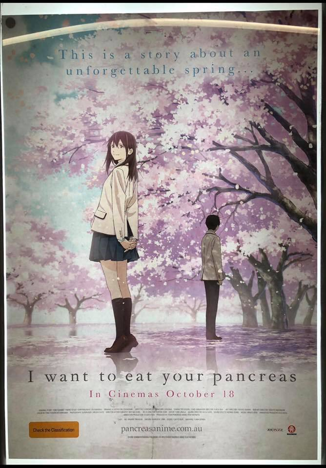 """test Twitter Media - """"I Want to Eat Your Pancreas"""": Seen by a friend of Jeff DeMarco in Sydney, Australia's Chinatown: Most people who encounter this poster assume that it is just the result of bad machine translation. But that's the real name of a real novel and a film… https://t.co/vrj2jal7Lu https://t.co/MmrOscR4kk"""