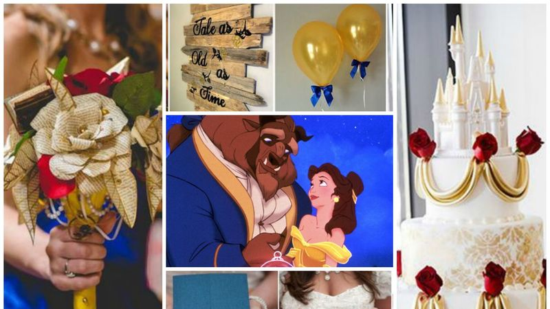 Wedding inspiration: How to throw the ultimate Beauty and the Beast themed