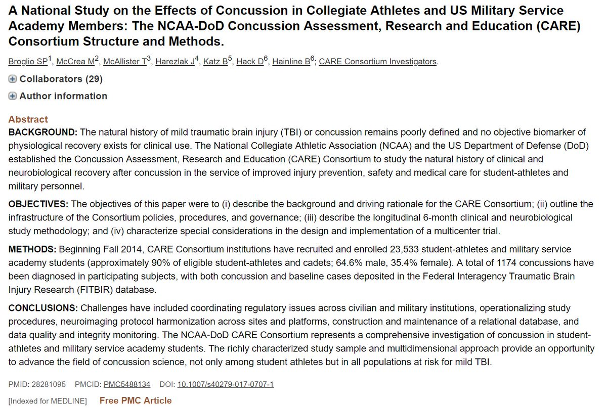 test Twitter Media - The making of the largest prospective study of #sport-related #concussion... @CareConsortium.  @NCAA @NCAA_SSI @DeptofDefense @IUMedSchool @umichmedicine @MedicalCollege.  @UCLAHealth @dgsomucla @UCLAMCH proud to be part of this effort. @TheAMSSM @ACSMNews https://t.co/whBZsyZxbe https://t.co/6tpCC4SgCq