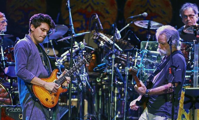 Happy birthday Bob Weir and John Mayer!