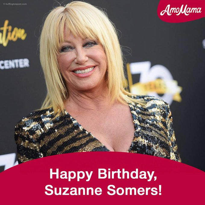 Suzanne Somers, Happy Birthday!