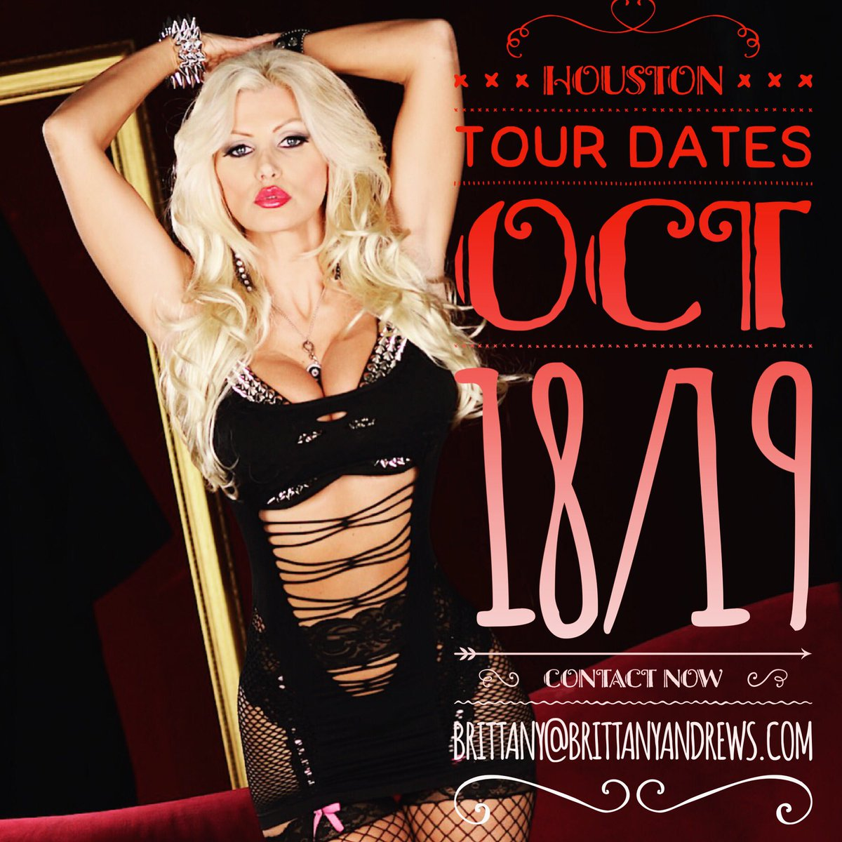 Im in #Houston this Week! Contact to Get Booking Information Now 💋 #brittanyandrews