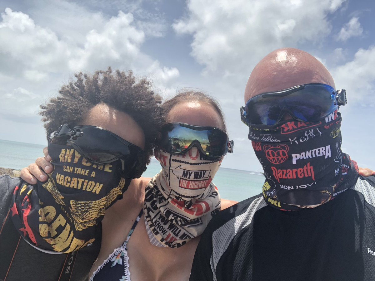Motivational bandanas while riding utv's in Aruba #Business #lifestyle #probiotics #utv #bandana #fun #beach https://t.co/opFrs0j8gv