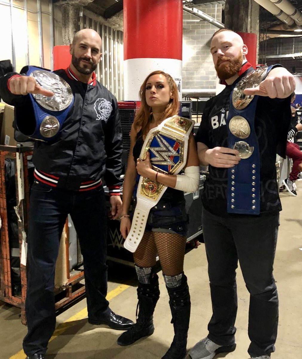 RT @WWESheamus: We are the champions. #SD1000 https://t.co/BRIiand4dc