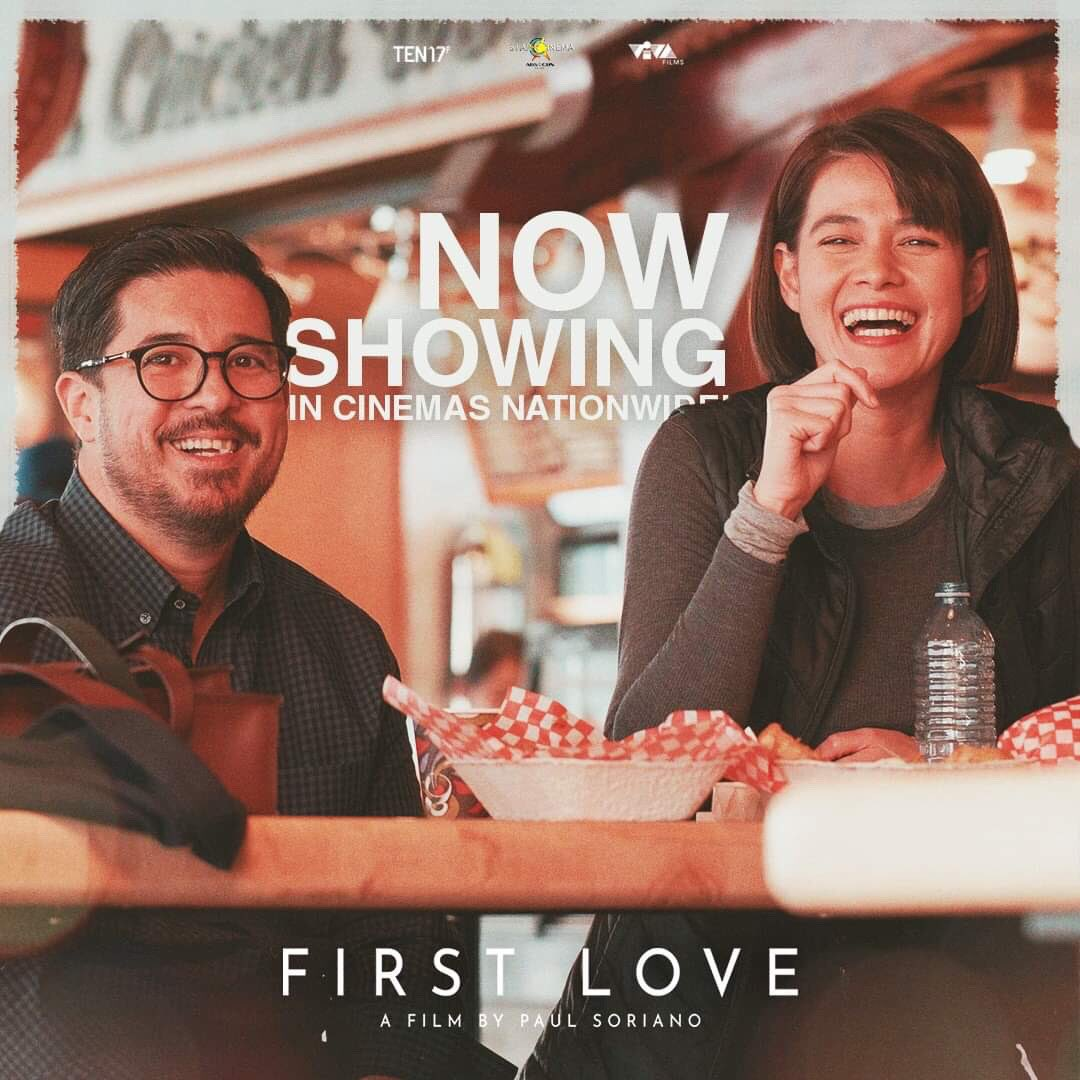 RT @StarCinema: It's the #FIRSTdayofLOVE. ❤️ #FirstLoveMovie is now showing in cinemas nationwide! https://t.co/FiklJQQQow